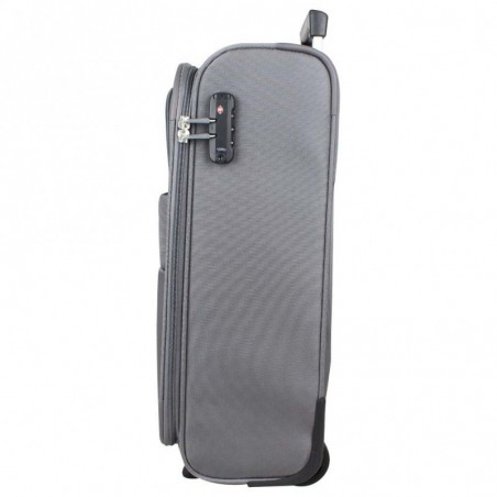 Valise trolley cabine 2 roues toile American Tourister Summer Voyager grise