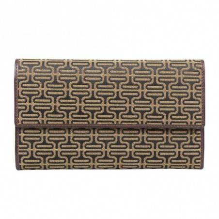 Petit portefeuille porte monnaie et porte cartes cuir vintage Tony Perotti Tony PEROTTI - 1