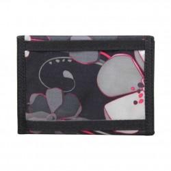 Porte monnaie et cartes DDP cuir et toile B3339 DDP - 3