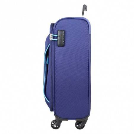 Valise cabine 4 roues toile American Tourister Holiday bleu AMERICAN TOURISTER - 2