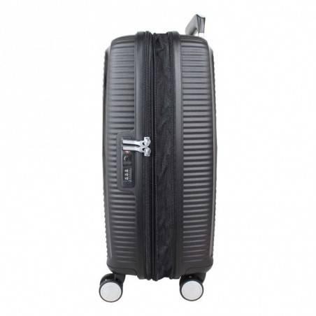 Valise cabine rigide 4 roues American Tourister Soundbox noir AMERICAN TOURISTER - 2