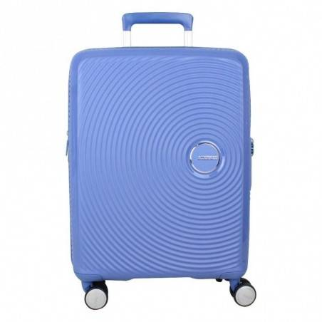 Valise cabine rigide 4 roues American Tourister Soundbox bleu AMERICAN TOURISTER - 1