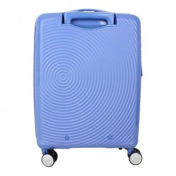 Valise cabine rigide 4 roues American Tourister Soundbox bleu AMERICAN TOURISTER - 4