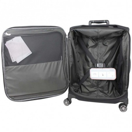 Valise cabine trolley toile Spinner 55 SAMSONITE B-Lite Icon noir