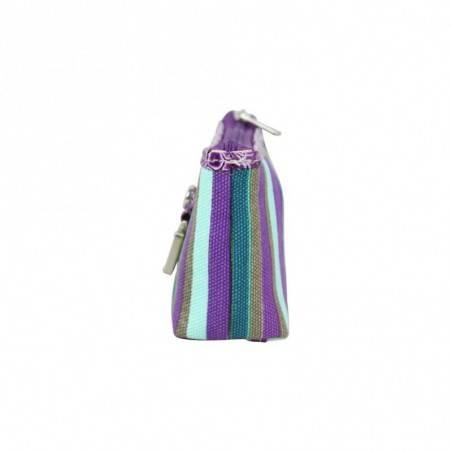 Petit porte monnaie bourse motif raie FUCHSIA violet FUCHSIA - 2
