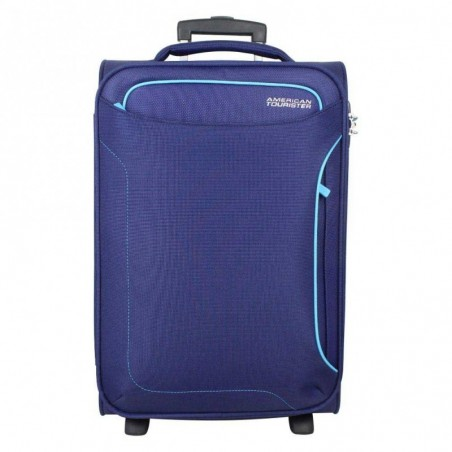 Valise cabine 2 roues toile American Tourister Holiday Heat Bleu