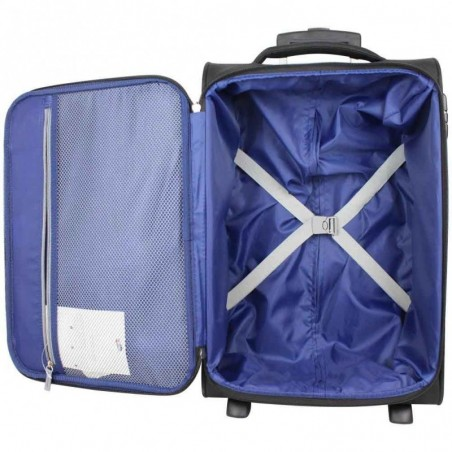 Valise cabine 2 roues toile American Tourister Holiday Heat noir