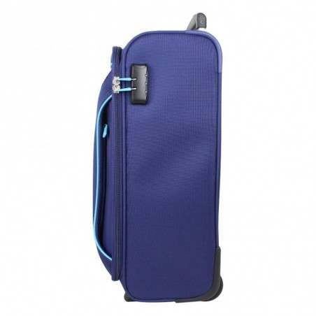 Valise trolley cabine 2 roues toile American Tourister Holiday Heat Bleu