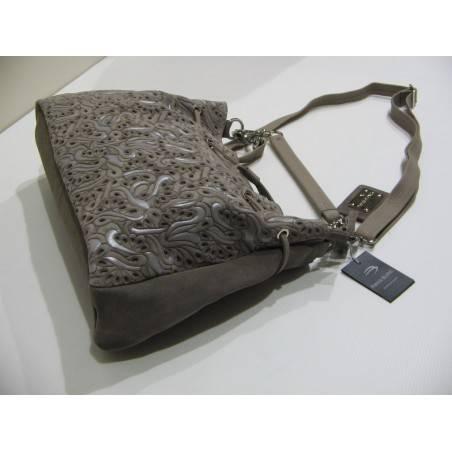 Sac porté épaule de marque Patrick Blanc réalisé en cuir vachette PATRICK BLANC - 3