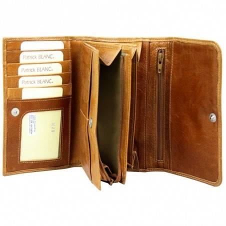 Porte monnaie Patrick Blanc imprimé imprimé feuilles et argent DS0028  PATRICK BLANC - 2