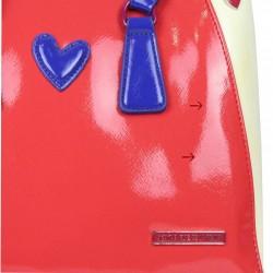 Neuf avec petits défauts sac à main bowling Royal Wear Tricolore EVH 25015 Agatha Ruiz DE LA PRADA - 2