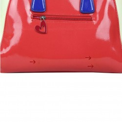 Neuf avec petits défauts sac à main bowling Royal Wear Tricolore EVH 25015 Agatha Ruiz DE LA PRADA - 4