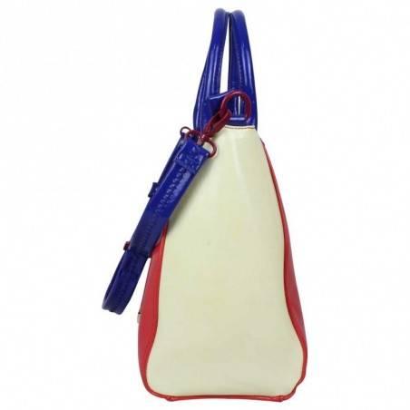 Neuf avec petits défauts sac à main bowling Royal Wear Tricolore EVH 25015 Agatha Ruiz DE LA PRADA - 5