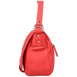 Petit sac porté épaule bandoulière Fuchsia F9420-7 FUCHSIA - 2