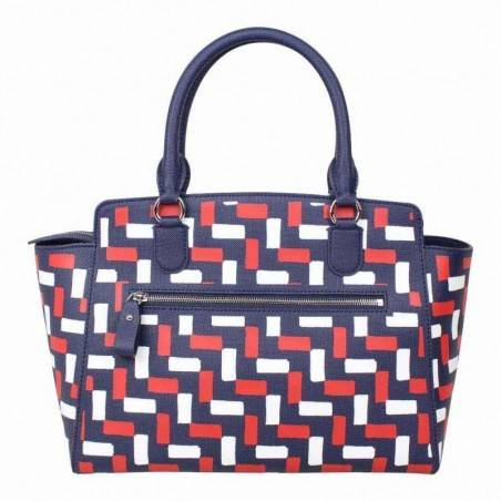 Sac à main Shopping Bag Lacoste NFDN bleu marine
