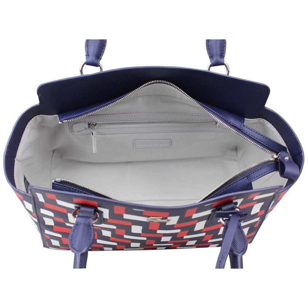 Lacoste Bag Main Marine Sac Bleu Shopping Nfdn À FtFISwq6
