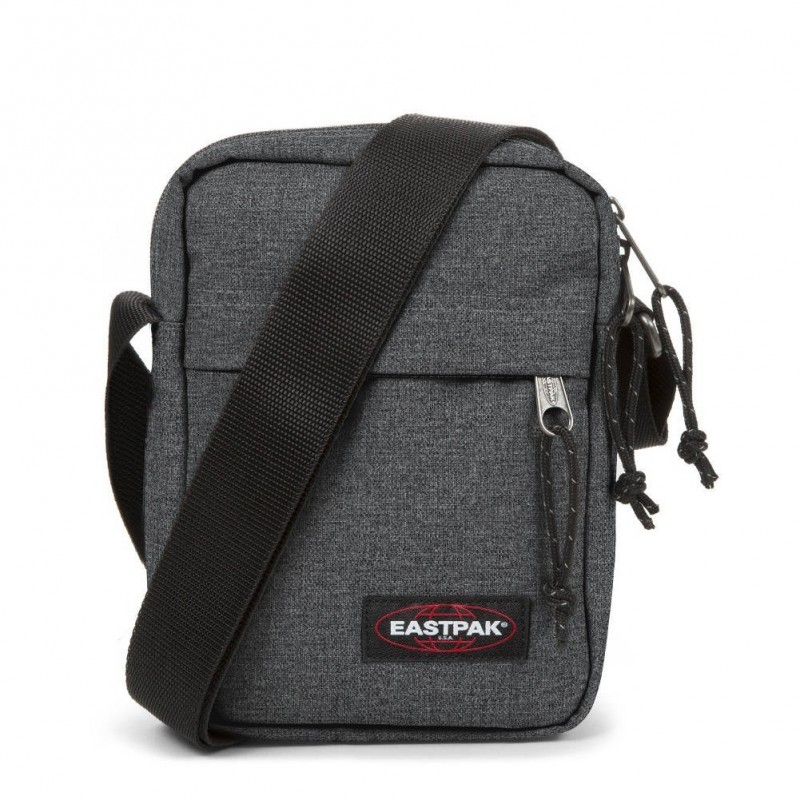 Pochette bandoulière Eastpak EK045 77H The One gris denim