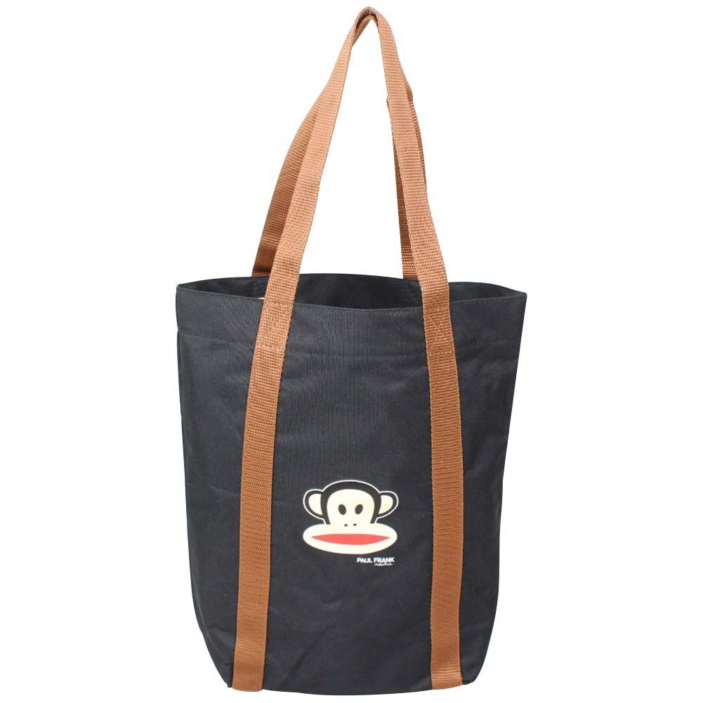 Petit sac tote bag noir motif imprimé singe Paul Frank A DÉCOUVRIR ! - 1