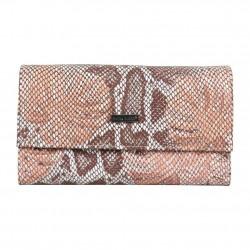 Tout en un Patrick Blanc en cuir souple effet motif imprimé lézard beige nude PATRICK BLANC - 1