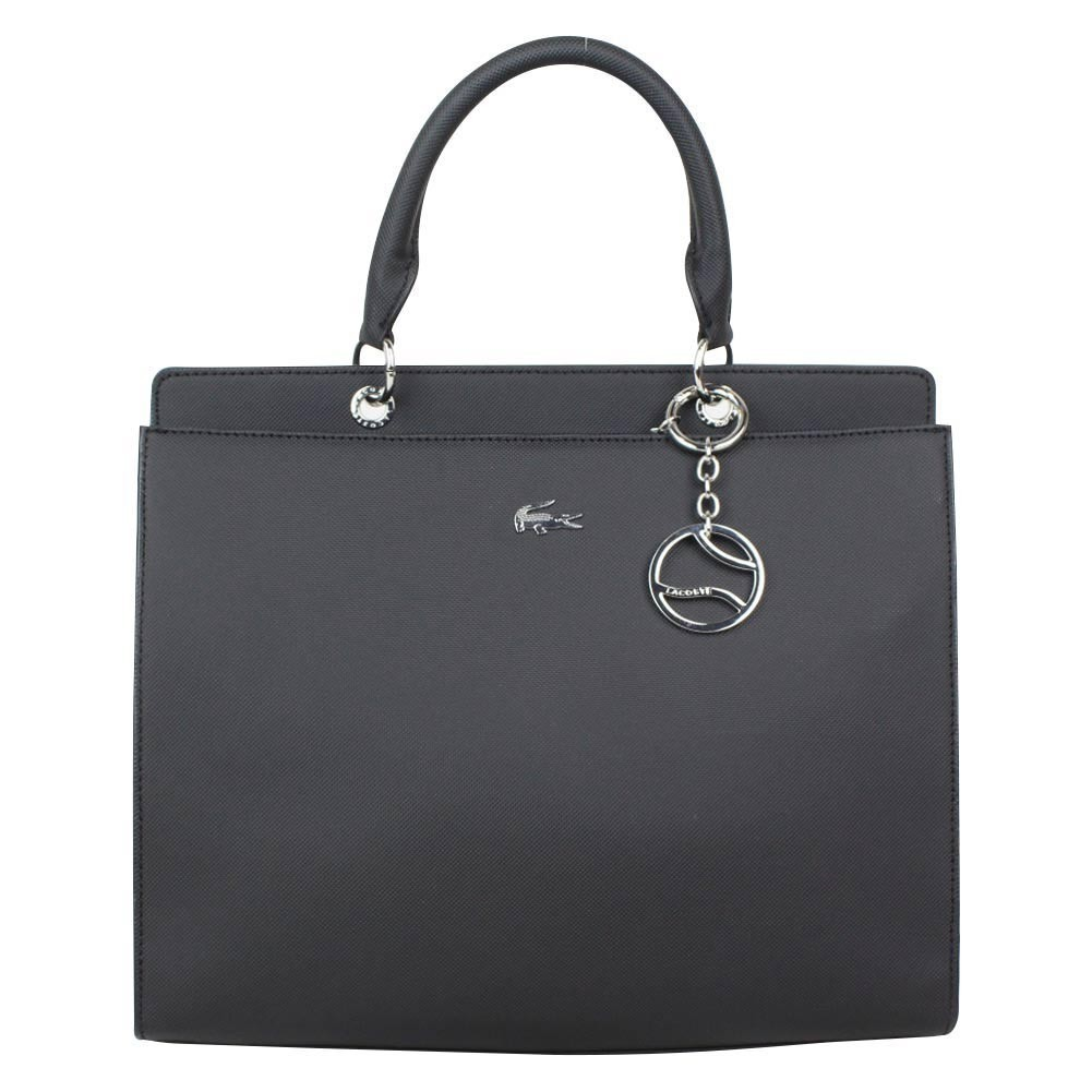 Sac à main shopping Satchel Bag Lacoste NFDC noir LACOSTE - 1