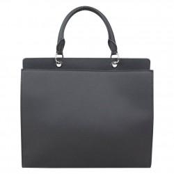 Sac à main shopping Satchel Bag Lacoste NFDC noir LACOSTE - 4