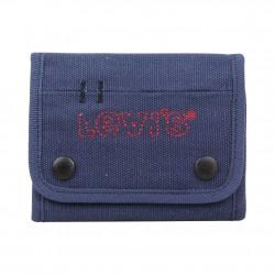 Portefeuille toile à scratch Levi's Dirty Bleu marine LEVI'S - 1