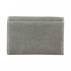 Porte monnaie toile forme poche Levi's Bleu gris kaki LEVI'S - 3