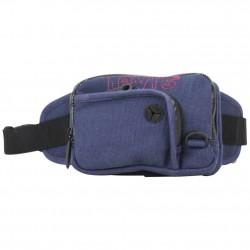 Pochette ceinture banane plate toile Levi's bleu marine LEVI'S - 1