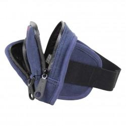 Pochette ceinture banane plate toile Levi's bleu marine LEVI'S - 3