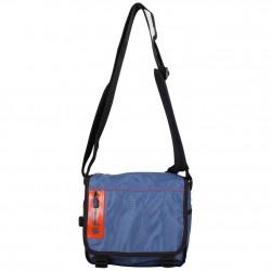 Pochette besace à rabat bandoulière toile nylon Levi's bleu LEVI'S - 1