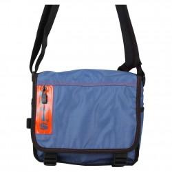 Pochette besace à rabat bandoulière toile nylon Levi's bleu LEVI'S - 5