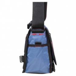 Pochette besace à rabat bandoulière toile nylon Levi's bleu LEVI'S - 3
