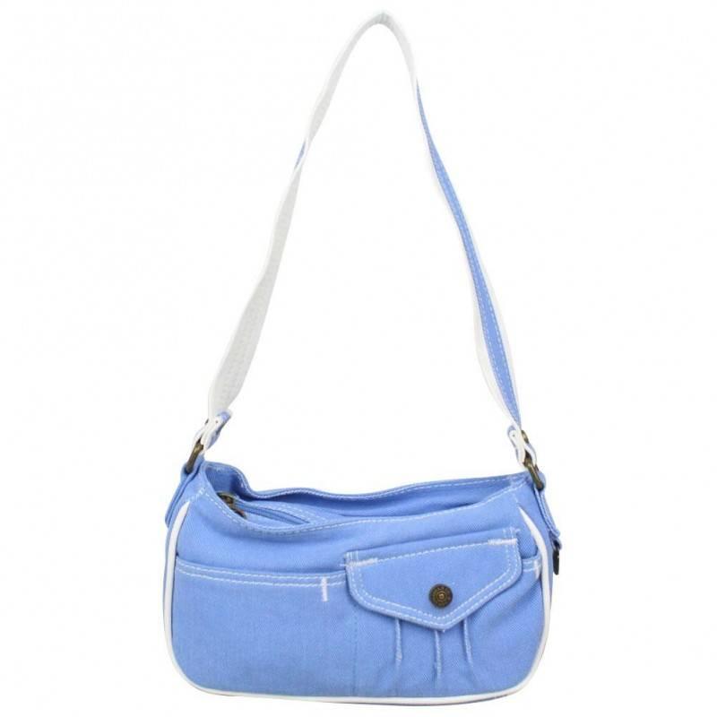 Petit sac épaule Levi's toile Bleue Roller LEVI'S - 1