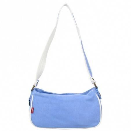 Petit sac épaule Levi's toile Bleue Roller LEVI'S - 4
