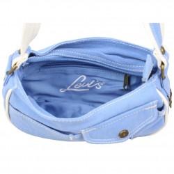 Petit sac épaule Levi's toile Bleue Roller LEVI'S - 3