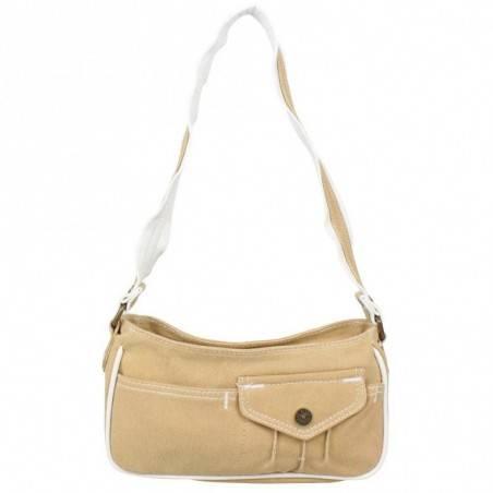 Petit sac épaule Levi's toile Beige Denim Roller LEVI'S - 1