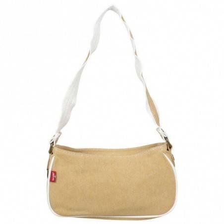 Petit sac épaule Levi's toile Beige Denim Roller LEVI'S - 3