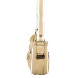 Petit sac épaule Levi's toile Beige Denim Roller LEVI'S - 2