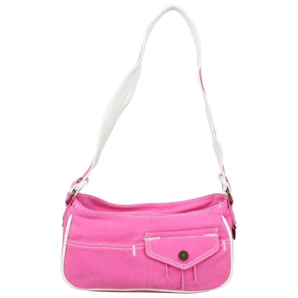 Petit sac épaule Levi's toile Rose Denim Roller LEVI'S - 1