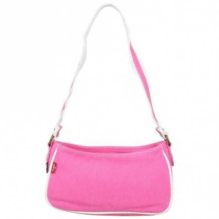 Petit sac épaule Levi's toile Rose Denim Roller LEVI'S - 3