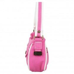 Petit sac épaule Levi's toile Rose Denim Roller LEVI'S - 2