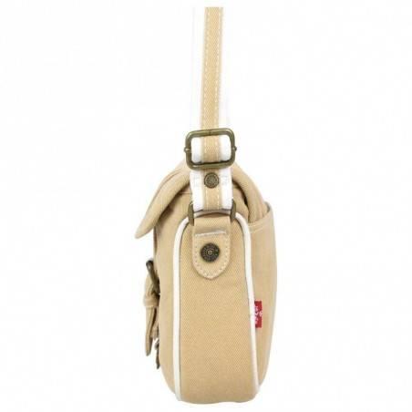 Petit sac bandoulière Levi's Beige Denim Roller LEVI'S - 3