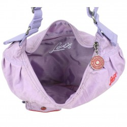 Sac extra plat demi lune toile nylon Levi's Lilas Violet Rank LEVI'S - 3