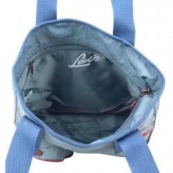 Sac cabas toile nylon Levi's bleu Rank LEVI'S - 3