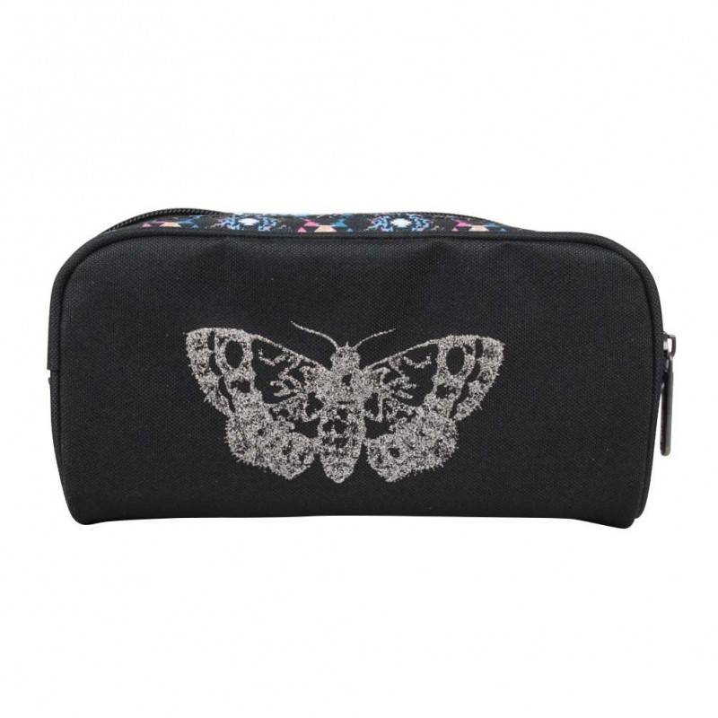Trousse Little Marcel Papillon et déco ethnique 1 compartiment rectangulaire