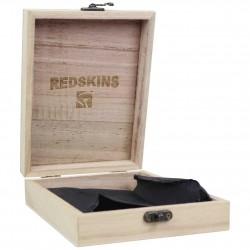 Petit portefeuille Redskins cuir effet patiné Marron REDSKINS - 4