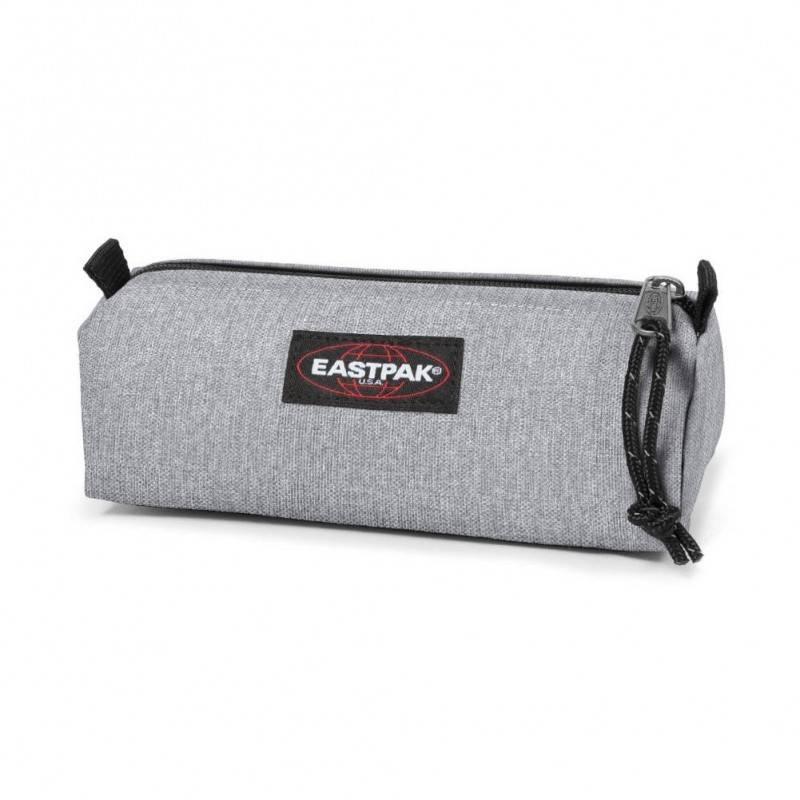 Trousse EASTPAK Ek372 Benchmark Single unie grise simple