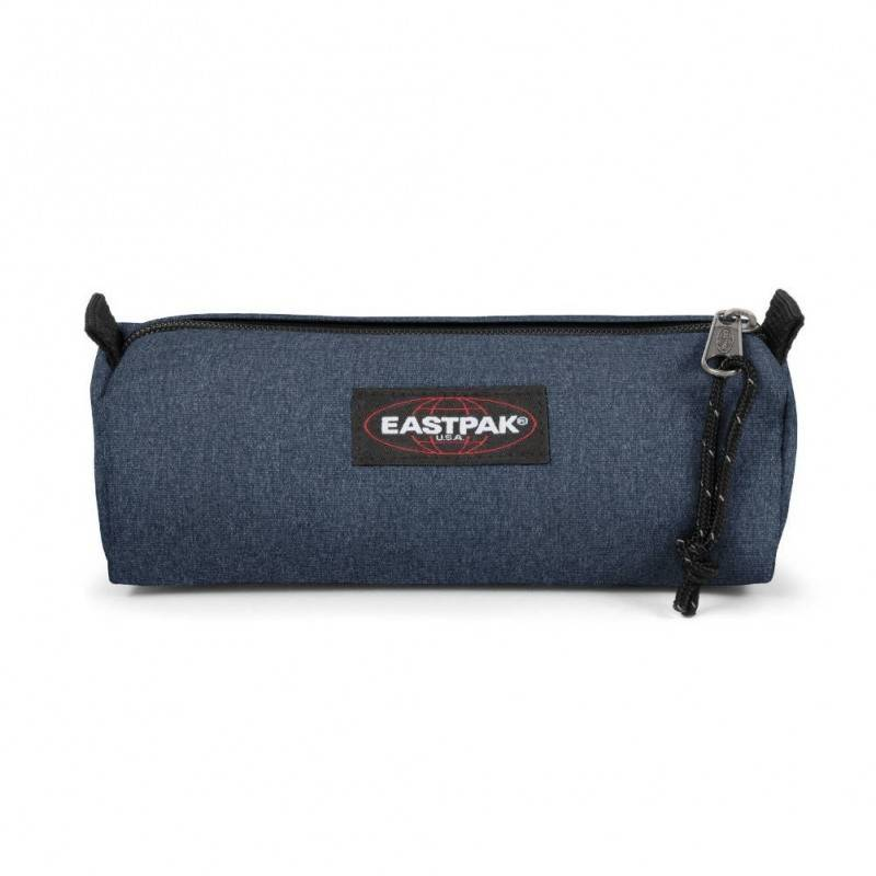 Trousse EASTPAK Ek372 Benchmark Single unie bleue Denim simple