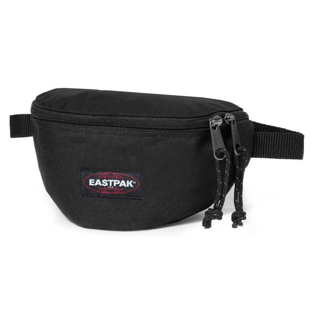 Petite pochette ceinture banane Eastpak EK074 008 Black Springer  EASTPAK - 1