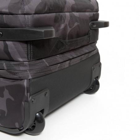 Sac de voyage avec roues EASTPAK EK63L 65R Constructed Cam Tranverz L gris militaire motif imprimé